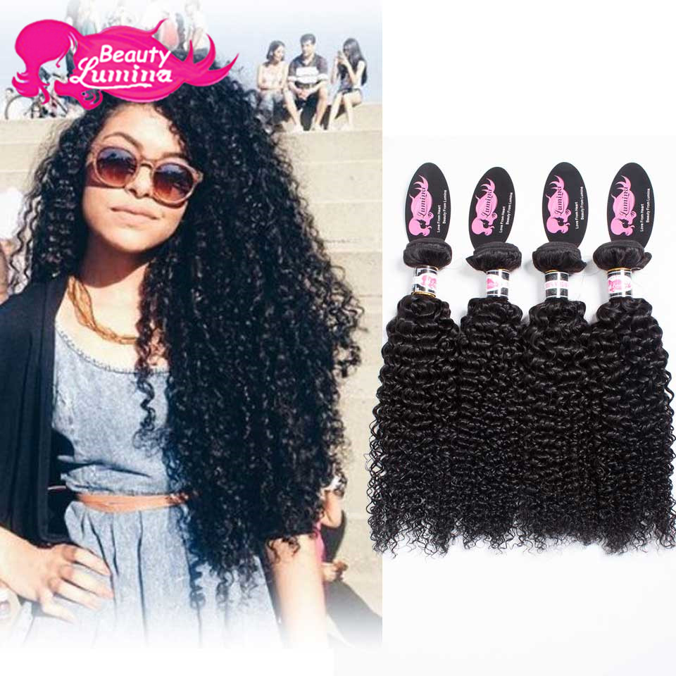 Mongolian Kinky Curly Virgin Hair With Closure,3 Bundles With Closure,7A Unprocessed Afro Kinky Curly Lace Closure With Bundles
