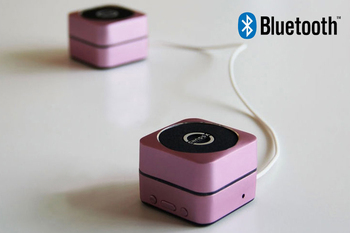New Free Shipping Pink Wireless Bluetooth 2.1 Speaker With TF Card For iPhone/iPad/Cellphone/MP3/MP4