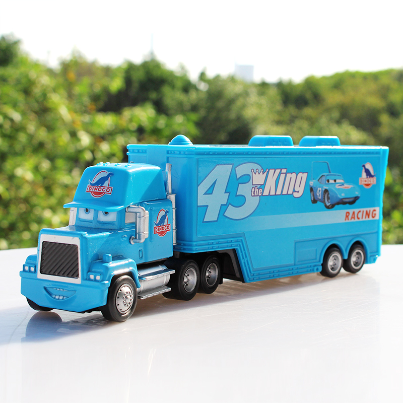 Free Shipping Pixar Cars 2 Toys #43 The King Truck Hauler Diecast Metal Toy gift Car Toy Brand New(China (Mainland))