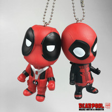 Free Shipping Brinquedos 8-10cm X-Men Movie Deadpool Figure Cosplay Doll, Anime Deadpool Action Figure Juguetes Model Kids Toys