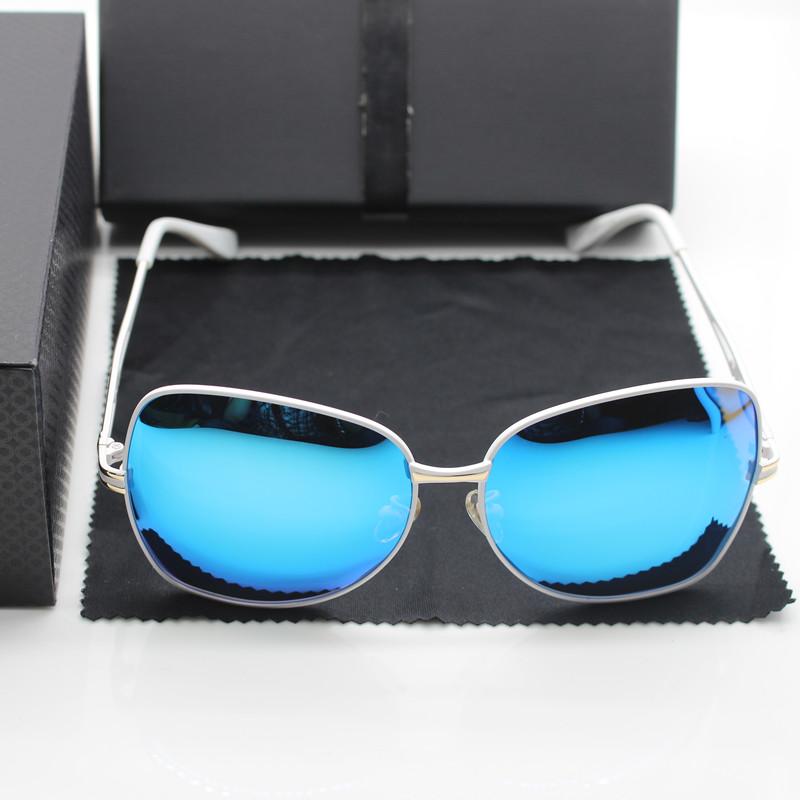 New Arrival 5 Color 100% Polarized Lens Fashion UV400 Protect Brand Designer Sunglasses for Women, Eyewear, Free Shipping(China (Mainland))