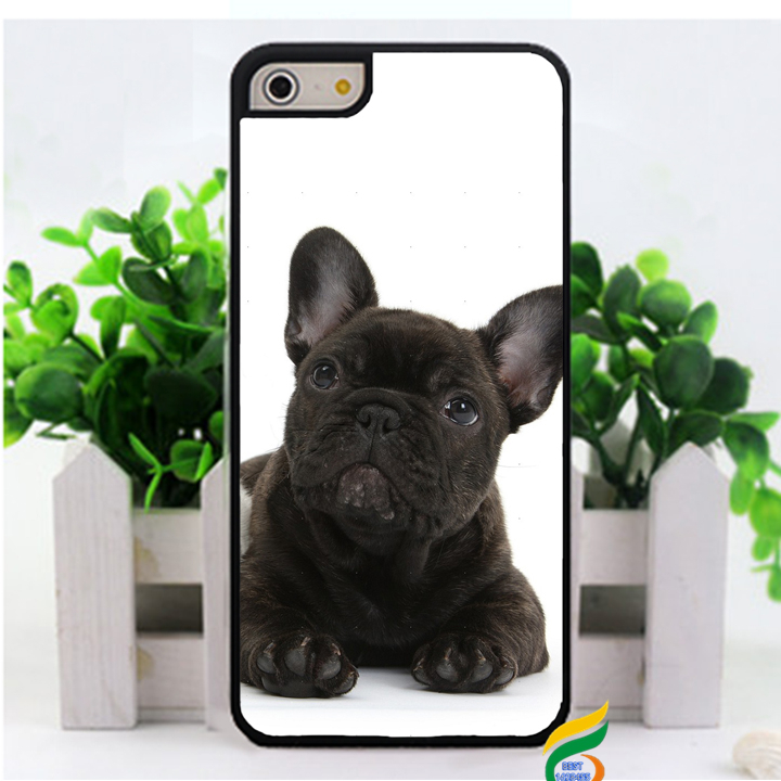 French Bulldog Puppy bouledogue francais fashion original cell phone case cover for iphone 4 4s 5 5s 5c 6 & 6 plus #2108(China (Mainland))
