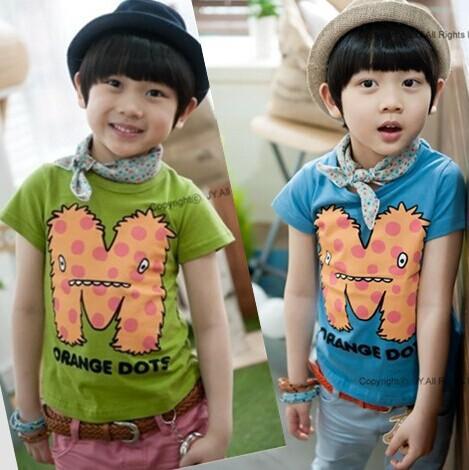 Wholesale 5pcs/lot top quality children short sleeve T shirt 4-10 year 95% cotton kid cotton T shirt 100-110-120-130-140cm/lot<br><br>Aliexpress