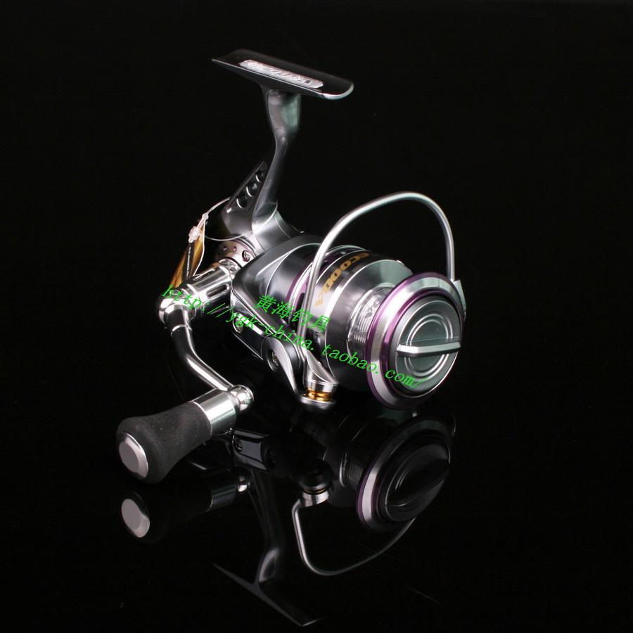 Ecooda-cs2500 9 shaft full metal spinning wheel lure wheel fish reel fishing reel