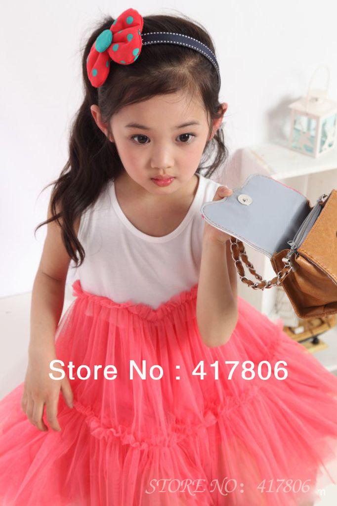 Cute Girl Pink Dress Cute Girls Children Dress