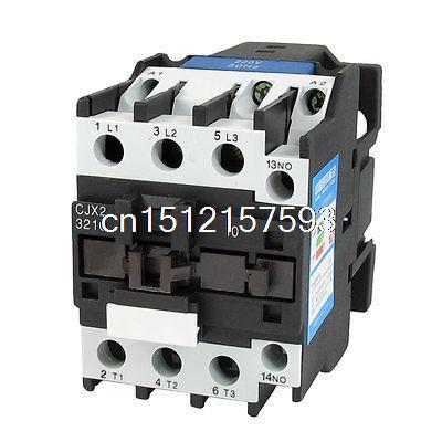 Здесь можно купить  660V 50A 3 Phase 3P NO AC Contactor DIN Rail Mount 220V Coil CJX2-3210  Электротехническое оборудование и материалы