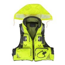New Outdoor Unisex Adult Life Jacket Fishing Safety Life Vest For Water Sports Drifting Boating Sailing Kayak Survival Swimwear(China (Mainland))