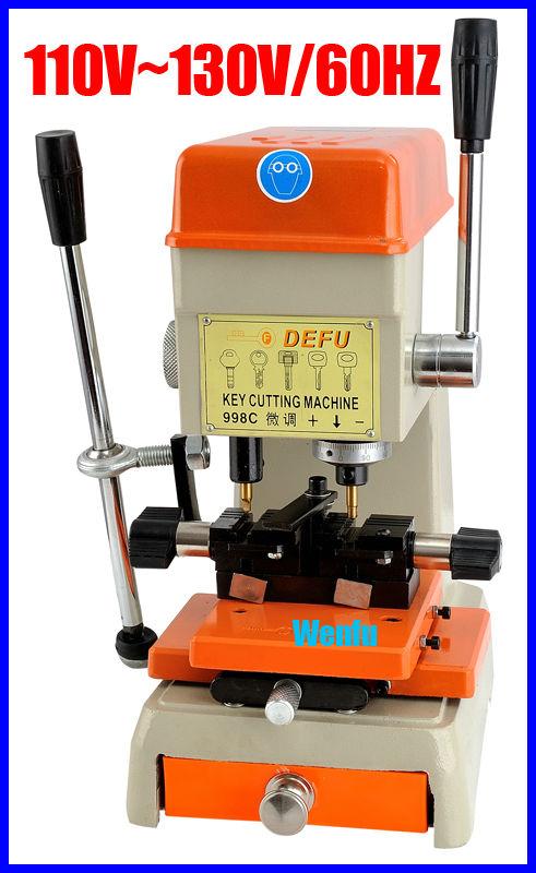 998C vertical key cutting machine.door and car lock key machine.factory lock machine(China (Mainland))