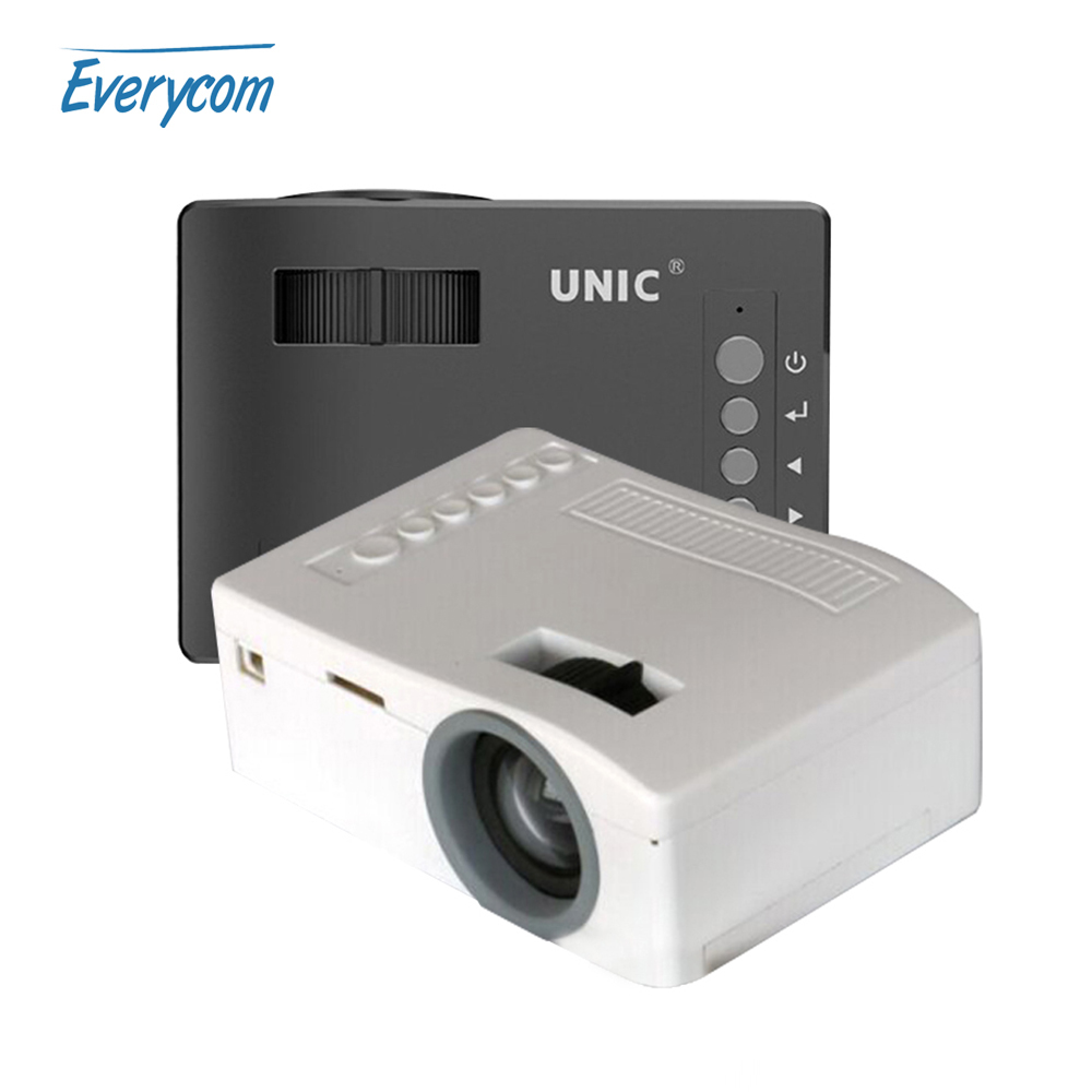 2016 new original unic uc18 mini pocket projector 1080p for Mini portable pocket projector