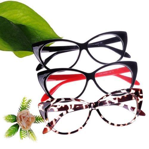 3 Color Choice! Vintage Classical Cat Eyes Design Clean Lens eyeglasses glasses frame(China (Mainland))