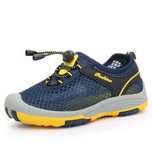 2019 ילדים חדשים נעלי גודל 28-40 בני אופנה סניקרס בנות ספורט ריצה נעלי ילדים לנשימה מזדמן מאמני חיצוני נעליים(China)