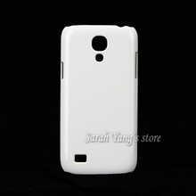 Free Shipping! DIY 3D Sublimation Heat Transfer Printing Hard Blank White Cases for Samsung Galaxy  S4 Mini