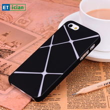 Buy Ultra Thin Case iPhone 5s SE X Pattern Smooth Surface Plastic Hard Back Cover iPhone 5s SE Phone Cases Coque for $4.78 in AliExpress store