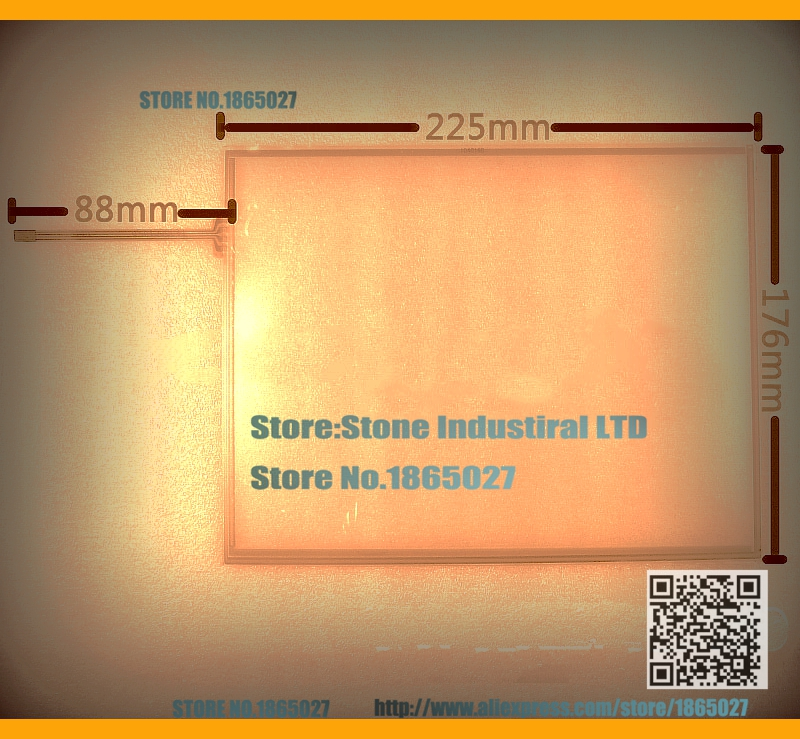 New 10.4 Inch Resistive touch screen fully replace amt9509 used on Industrial control equipment/Medical equipment(China (Mainland))
