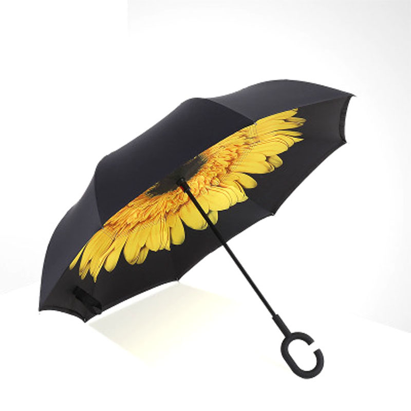 Popular sunflower umbrellas buy cheap sunflower umbrellas lots from china sun - Parasol double pente ...