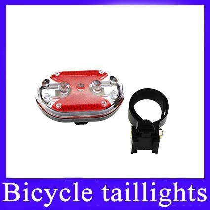 Bicycle bike Taillight tail lamp High-brightness 9 LED MOQ=1 Free shipping(China (Mainland))