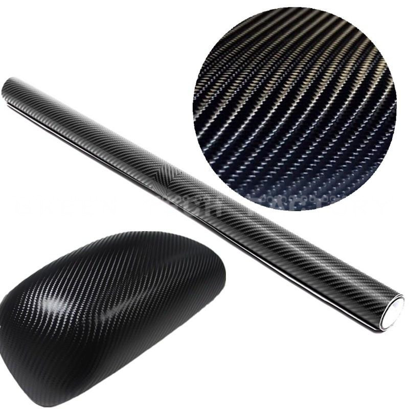 Export USA UK Car Styling 4D DIY Car Exterior Decoration Carbon Fiber Vinyl Motorcycle Car Sticker Auto Paint protection Film(China (Mainland))