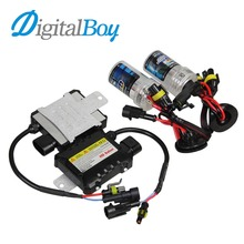 Buy Digitalboy 35W HID Xenon Bulb H3 Car Slim Ballast Block Conversion Kit Auto Car Headlight Lamp Front Light H3 5000k 6000k 8000k for $18.50 in AliExpress store