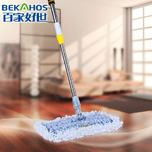 Quickie Home Pro Mighty Mop 180 Degree Electrostatic Flat Mop Wood Floor Cleaning Mop(China (Mainland))