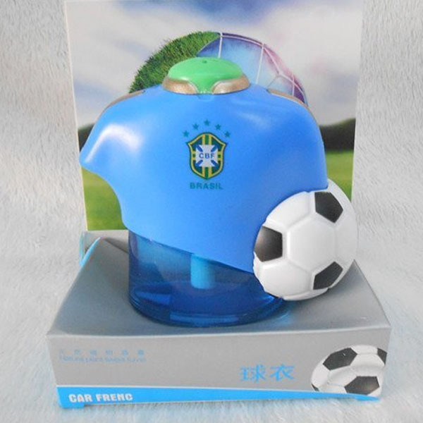 Brazil football world cup jersey design long lasting liquid Car perfume car air freshener(China (Mainland))