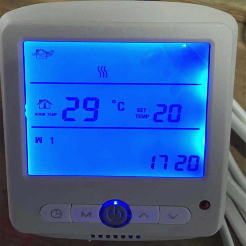 Temperature controller water heating system room heating for Room heating system