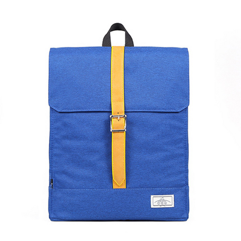 Solid Cotton Korean Preppy Style Large Capacity Travel Backpacks Unisex Casual Student Laptop Bags for Girls XB099