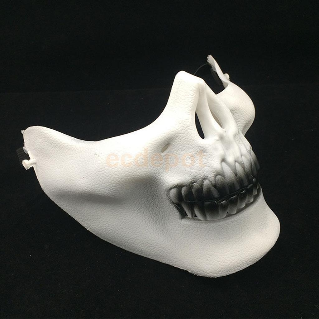 Skull Half Face Mask Plastic - Best Plastic 2017