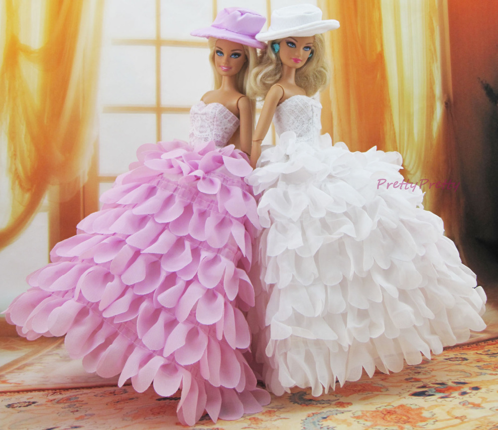 Two style fashion handmade wedding gown princess dress for Baby doll style wedding dress