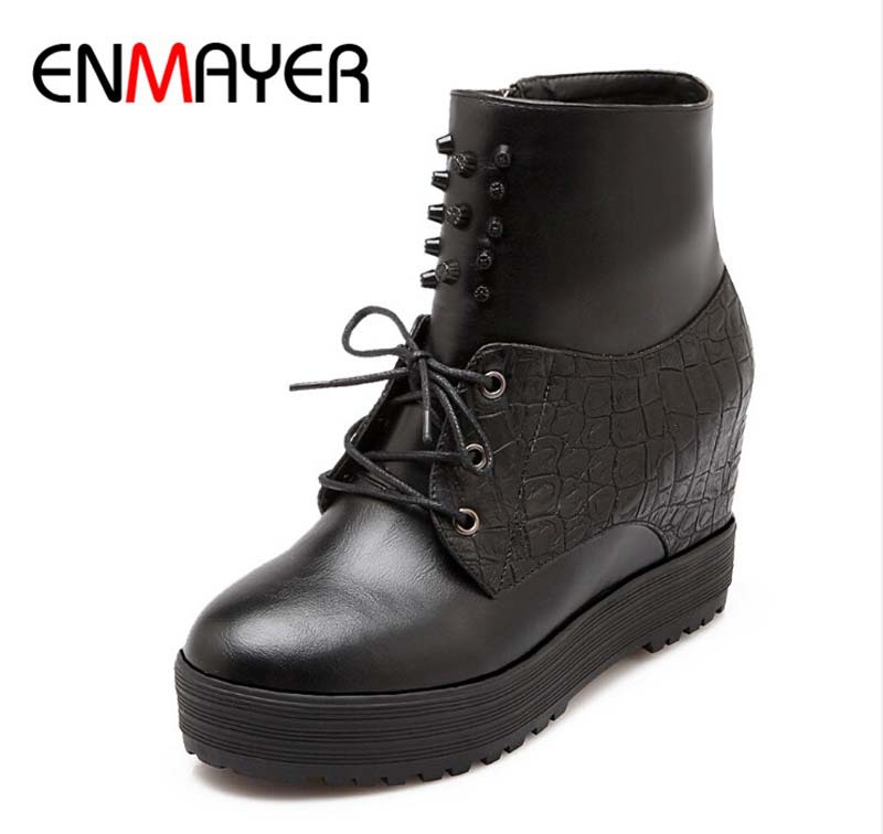 Popular Boots 2016 Casual Women Boots Slip On Ankle Boots Sexy Flats Shoes