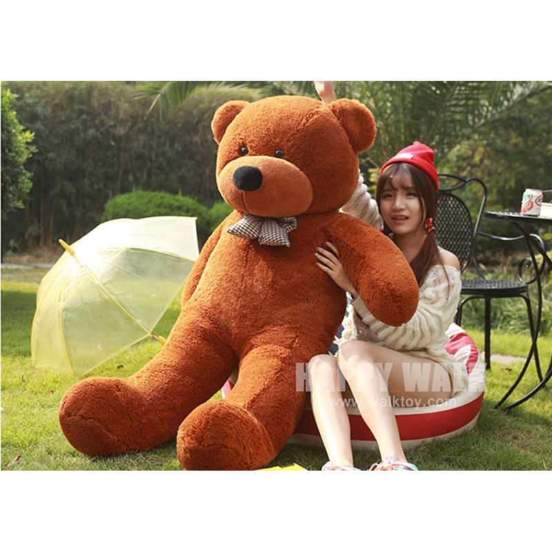 Huge Size 200cm Five Colors Big Teddy Bear Skins Cheap Plush Toys 2m Super Quality Wholesale Price Selling Toys For Girls(China (Mainland))