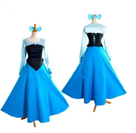 Adult The Little Mermaid Ariel Princess Cosplay Halloween Costume Party DressОдежда и ак�е��уары<br><br><br>Aliexpress