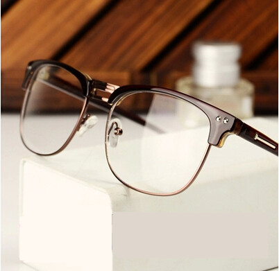 Fashion Famous Designer Brands Women Men Eye Glasses Frames Korean Vintage Prescription Big Nerd
