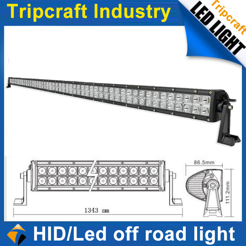 Factory price offroad truck atv suv 288w led driving light, CREE led bar flood spot very bright(China (Mainland))