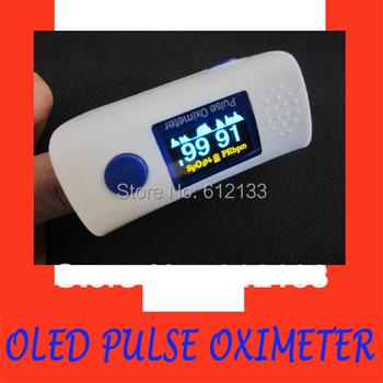 10pcs Pulse Oximeter Fingertip Oximeter OLED Display SPO2 Monitor Visual Alarm