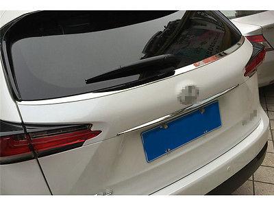 Stainless Steel Rear Window Bottom Sill Trim 1pcs For LEXUS NX200T NX300H 2015<br><br>Aliexpress