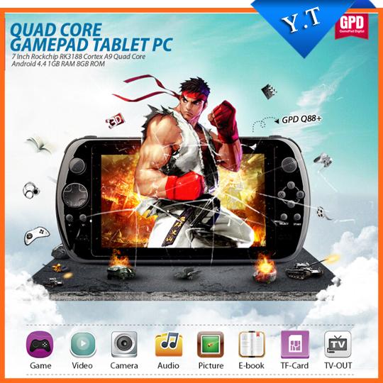 Портативная игровая консоль GPD Q88 + 7' PC IPS GamePad mp5 Q88+ ipega pg 9077 bluetooth wireless gamepad