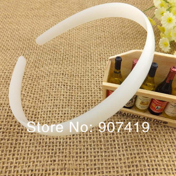 2013 NEW-10pcs/lot 15 mm width ABS DIY PLASTIC hairbands&headbands at Eco-friendly material(FG001)