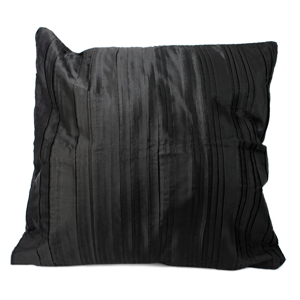 45 x45CM Black Sofa Throw Pillow Case Car Back Cushion Cover Decoration New