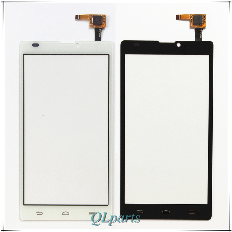 2 color Mobile Phone Touch Panel Sensor For ZTE Blade L2 Touch Screen Digitizer Front Glass Lens Replacement + Tracking Number(China (Mainland))