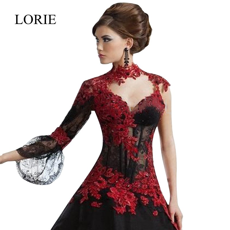 Black Red Wedding Dresses - Wedding Guest Dresses