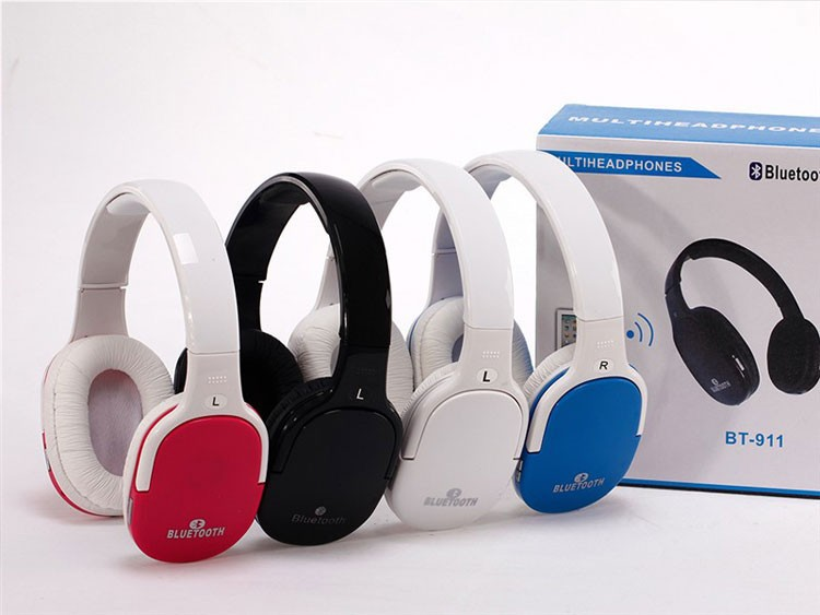 FREE SHIPPING CHEAP BLUETOOTH HEADPHONE , WIRLESS /WIRED DOUBLE USE HEADSET FOR SMART PHONES, LAPTOPS ETC(China (Mainland))