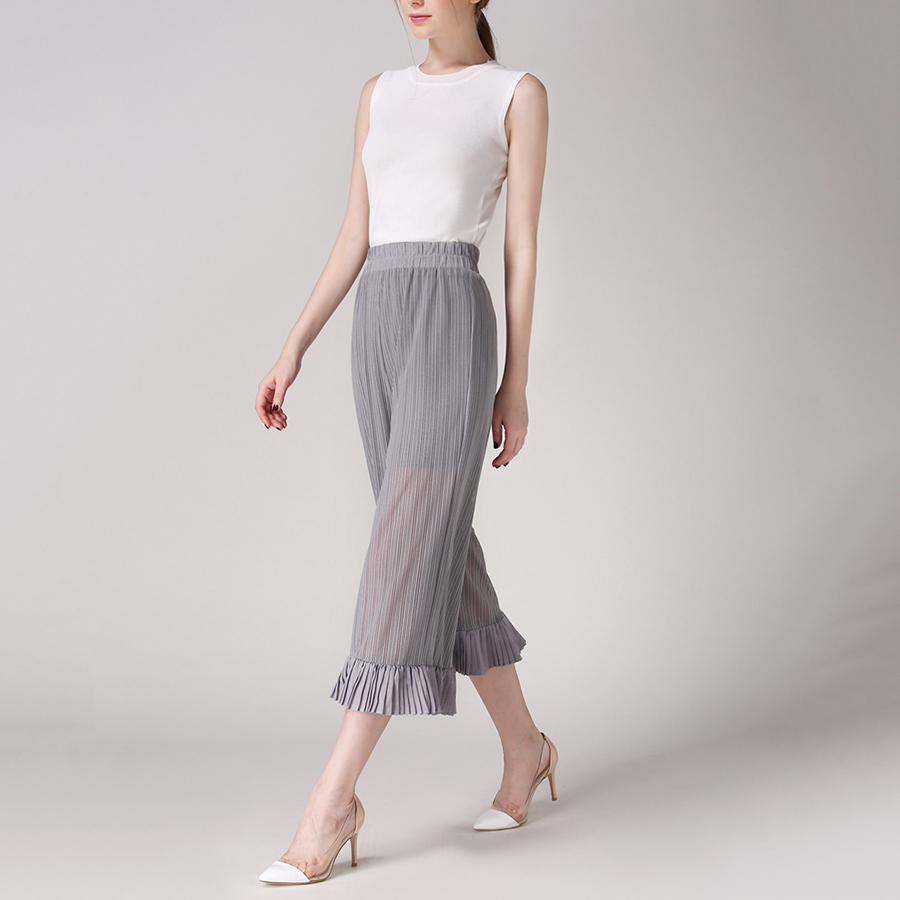 Pleated Pants In Or Out