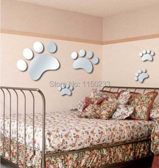 Free shipping 2014 hot lovely feet kids children room for Room decoration gifts