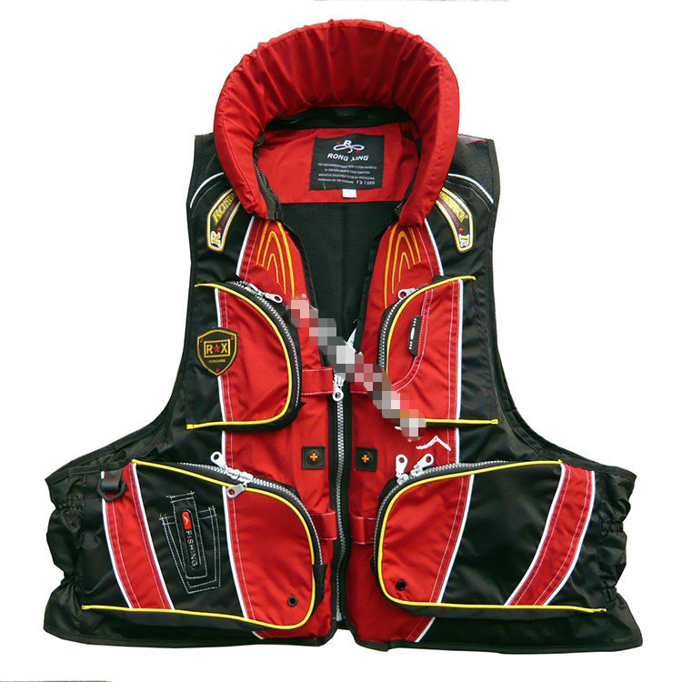 Good Quality Famous Brand foam Professional life jacket life vest fishing vest fishing jacket fishing tackle floating vest(China (Mainland))
