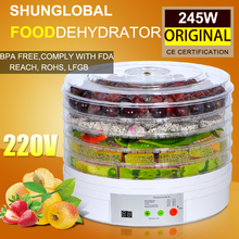 household Timer Digital Food dehydrator fruit fish meat tea flower dryer meal drying machine can set time 6-48 hours automatic(China (Mainland))