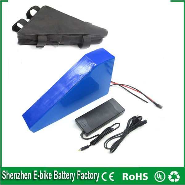 Triangle style electric bike battery 36v 30ah / ebike battery 36v 1000w BMS control ebike kit with BMS,charger For Samsung cell(China (Mainland))