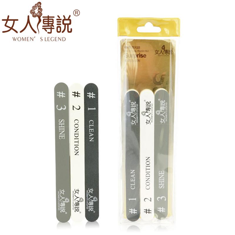 Пилки и шлифовщики для ногтей из Китая