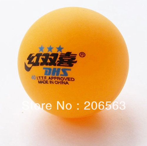 5 Boxes (30 Pcs) 3 Stars DHS 40MM Olympic Table Tennis Orange Ping Pong Balls Good HH-5 - zhenshuo yu's store