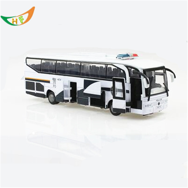Alloy toy model cars big bus 5 acoustooptical jugetes voiture Christmas gift for kids(China (Mainland))