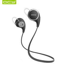 Original QCY QY8 Bluetooth Headset Wireless Sport Bluetooth Earphone Noise Cancelling Headset English Voice Earbuds Ecouteur(China (Mainland))